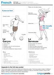 Sample the French People and Preferences poster