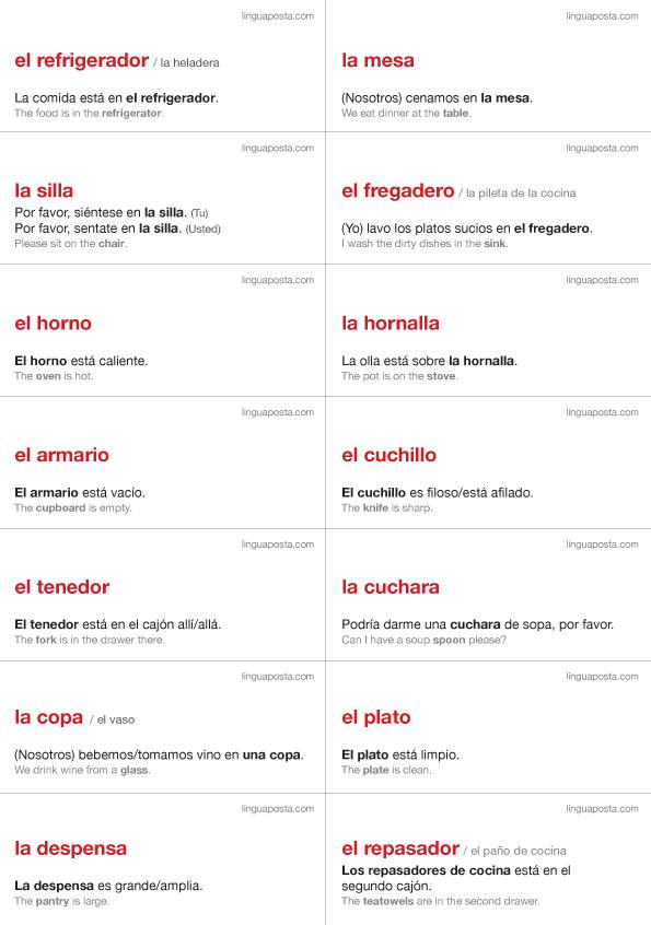 Spanish Language Labels Linguaposta